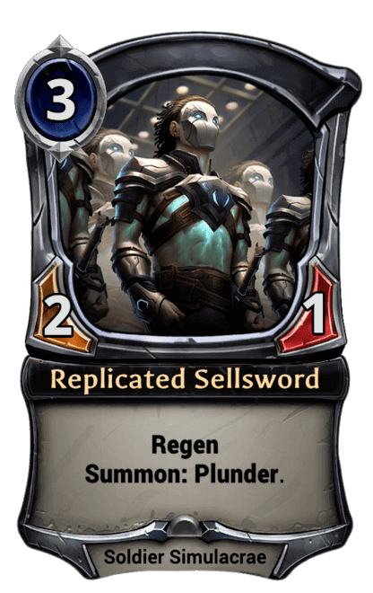 Card image for Replicated Sellsword