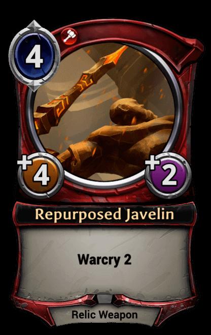 Card image for Repurposed Javelin
