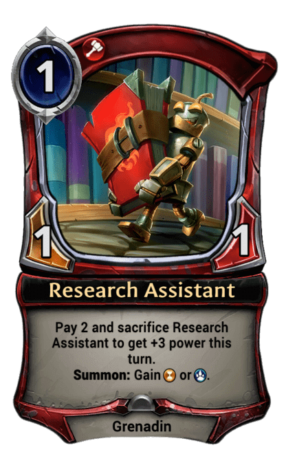 Card image for Research Assistant
