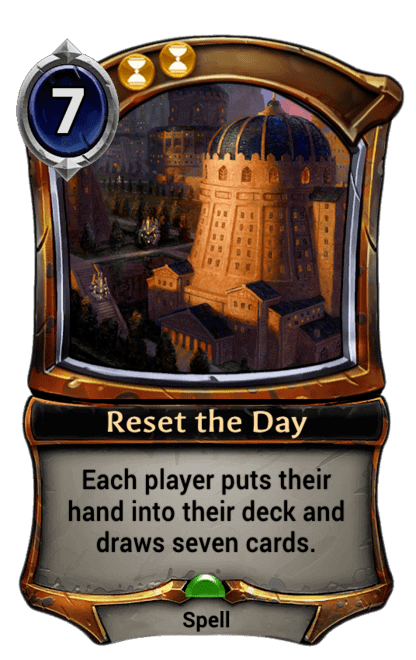 Card image for Reset the Day