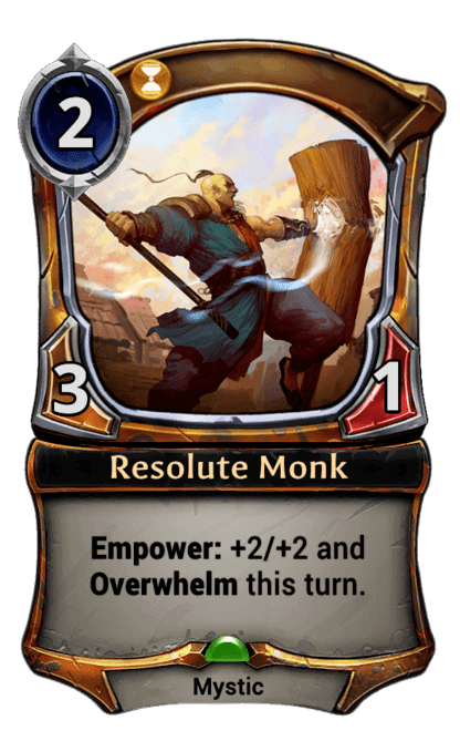 Card image for Resolute Monk