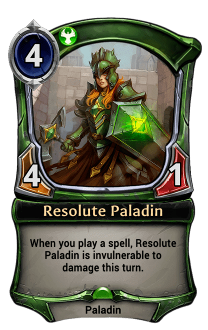 Card image for Resolute Paladin
