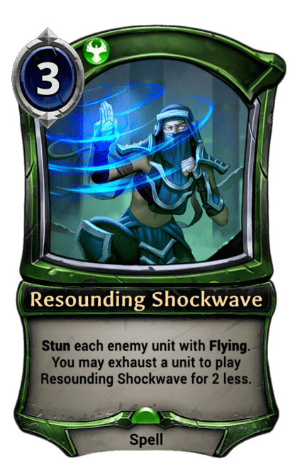 Card image for Resounding Shockwave