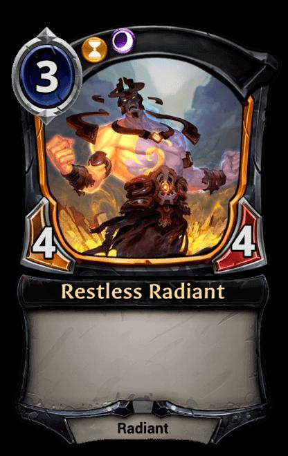 Card image for Restless Radiant