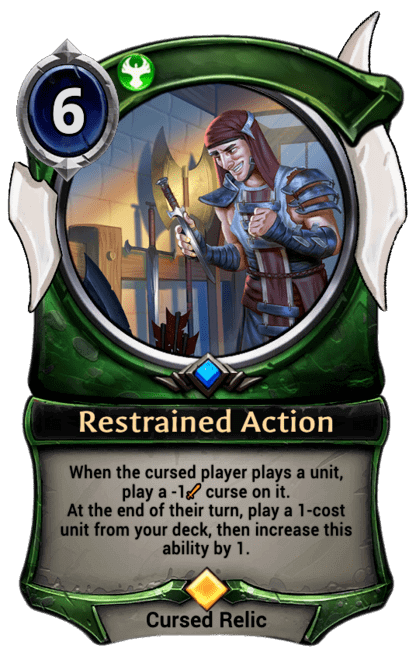 Card image for Restrained Action
