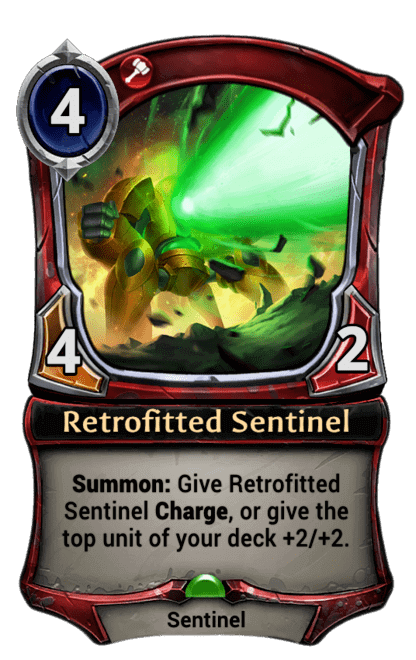Card image for Retrofitted Sentinel