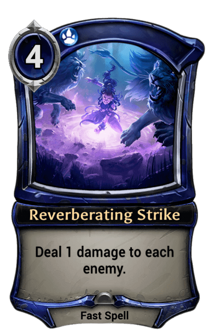 Card image for Reverberating Strike