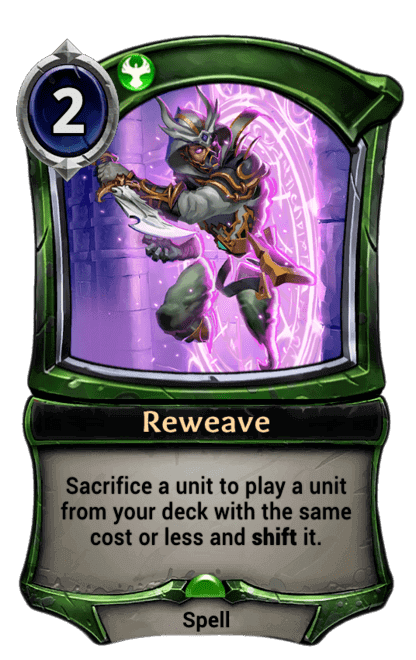 Card image for Reweave