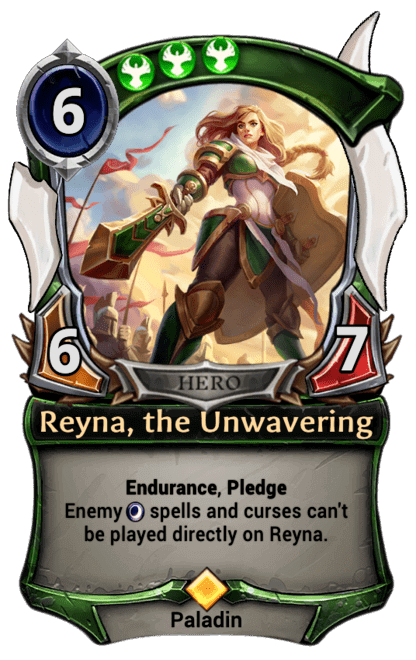 Card image for Reyna, the Unwavering