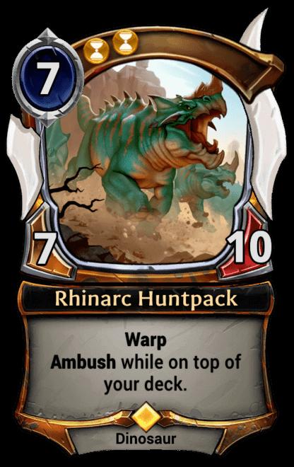 Card image for Rhinarc Huntpack