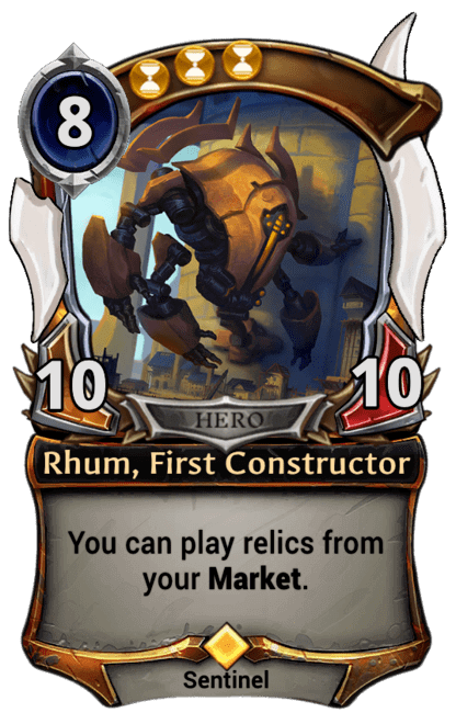 Card image for Rhum, First Constructor