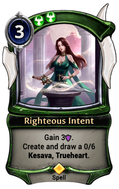 Card image for Righteous Intent