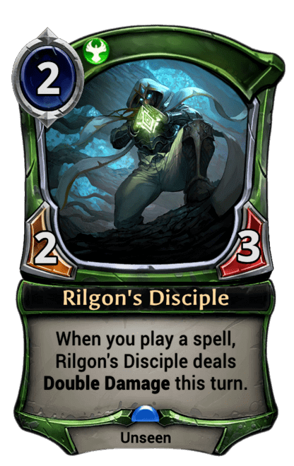 Card image for Rilgon's Disciple
