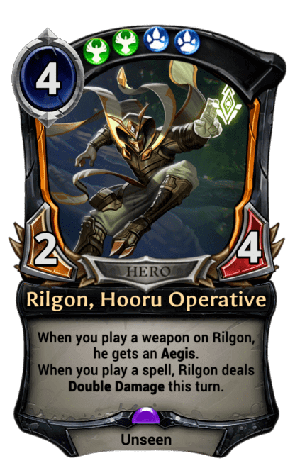 Card image for Rilgon, Hooru Operative