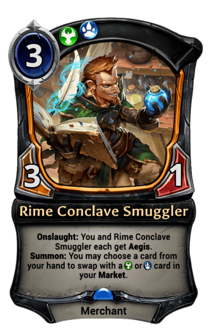 Card image for Rime Conclave Smuggler