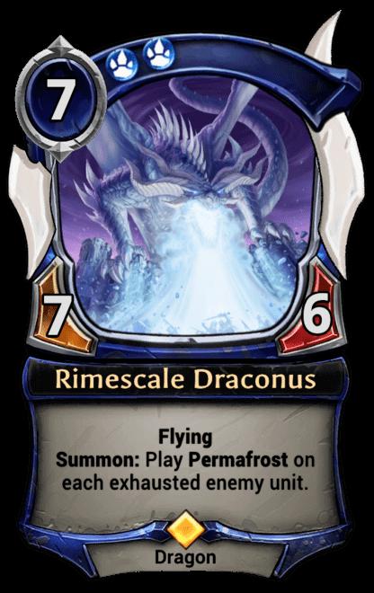 Card image for Rimescale Draconus