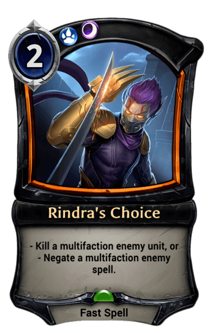 Card image for Rindra's Choice