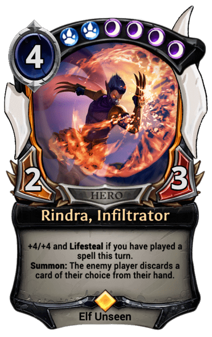 Card image for Rindra, Infiltrator