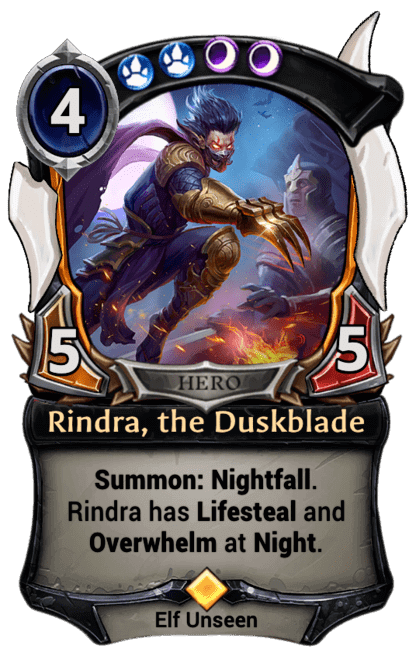Card image for Rindra, the Duskblade