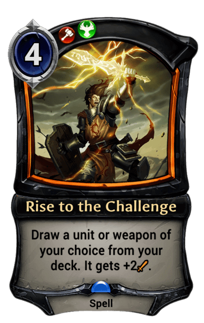 Card image for Rise to the Challenge