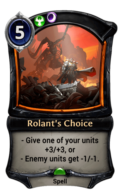 Card image for Rolant's Choice