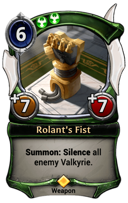 Card image for Rolant's Fist