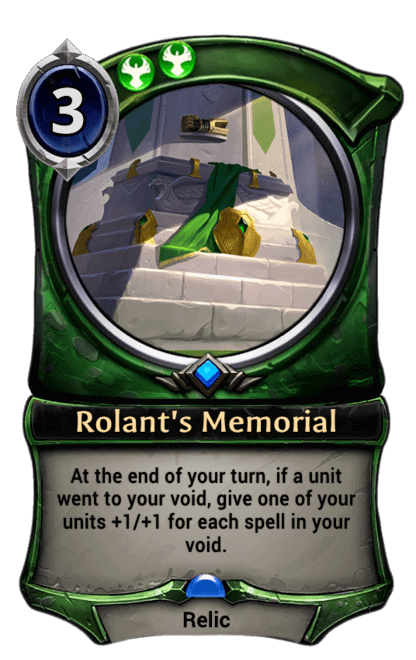 Card image for Rolant's Memorial