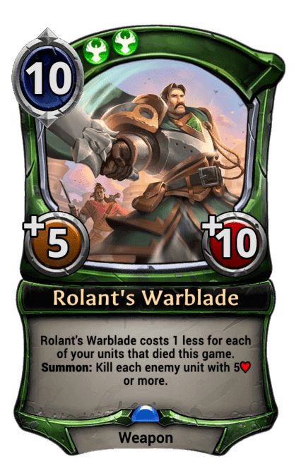 Card image for Rolant's Warblade