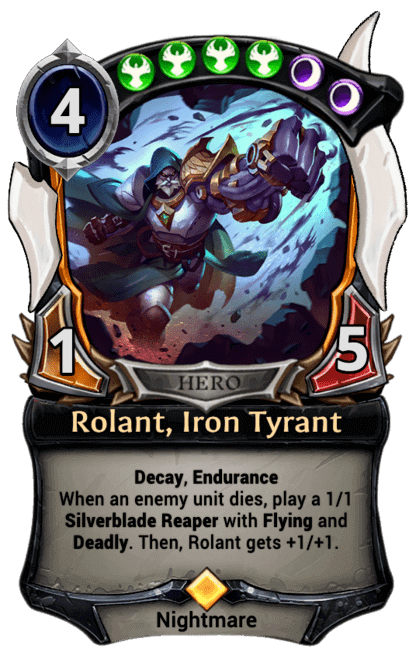 Card image for Rolant, Iron Tyrant
