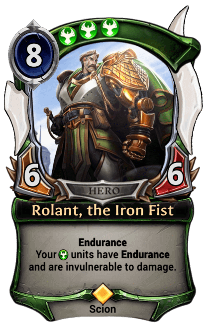 Card image for Rolant, the Iron Fist