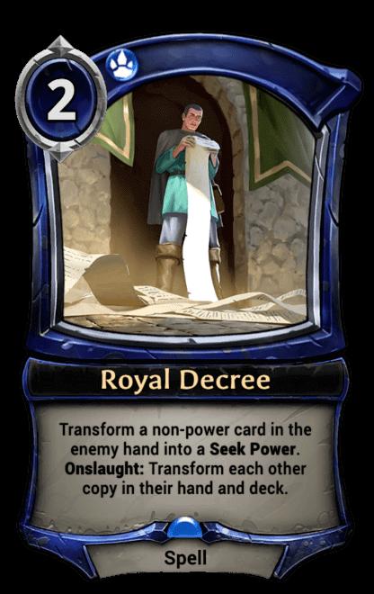 Card image for Royal Decree