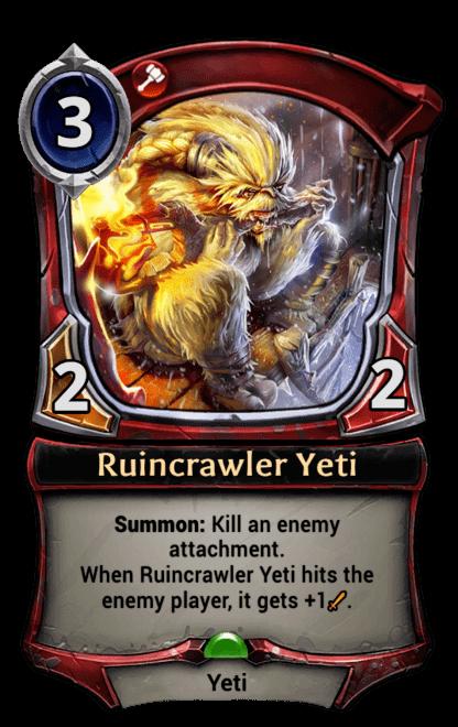 Card image for Ruincrawler Yeti