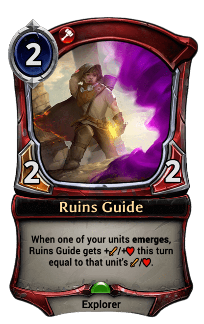 Card image for Ruins Guide