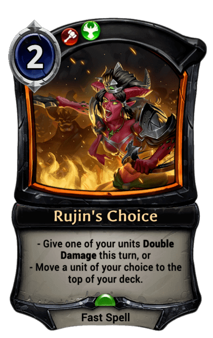 Card image for Rujin's Choice
