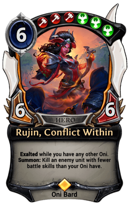 Card image for Rujin, Conflict Within
