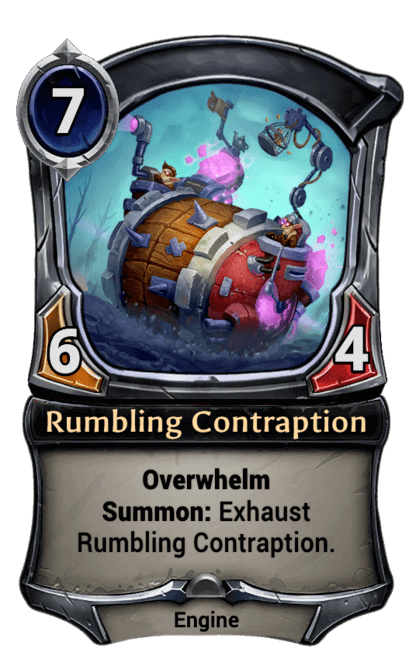 Card image for Rumbling Contraption