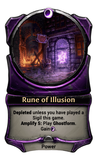 Card image for Rune of Illusion