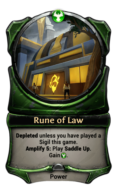Card image for Rune of Law