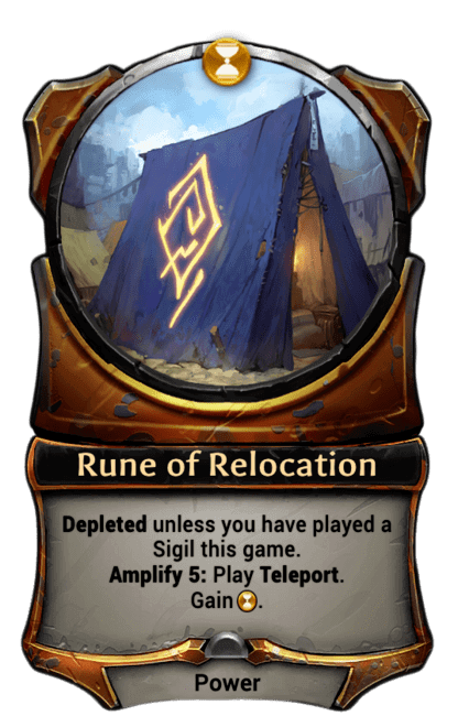 Card image for Rune of Relocation