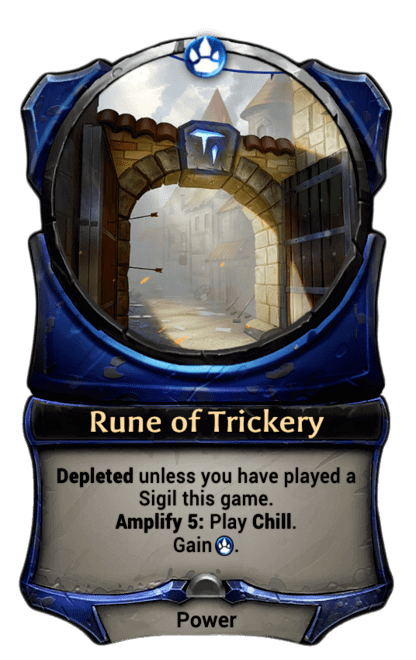 Card image for Rune of Trickery