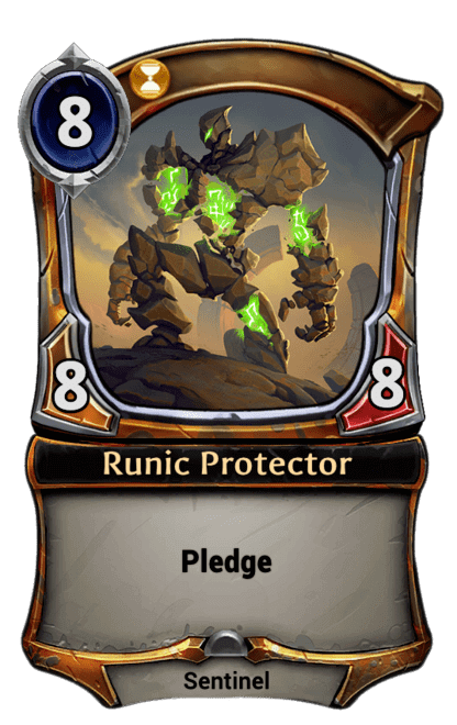 Card image for Runic Protector