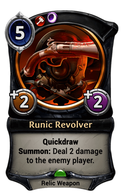 Card image for Runic Revolver