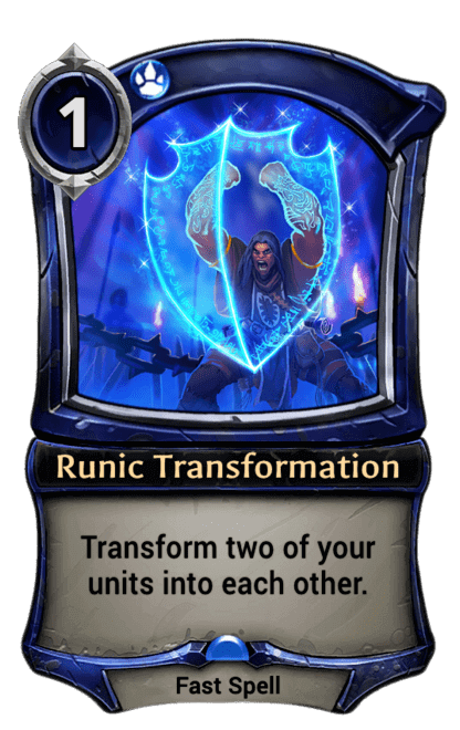 Card image for Runic Transformation