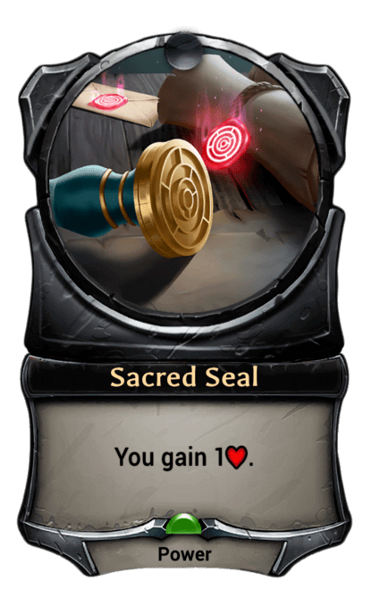 Card image for Sacred Seal