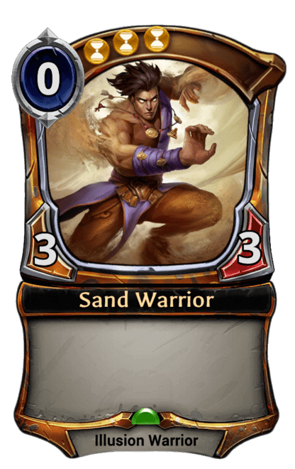 Card image for Sand Warrior