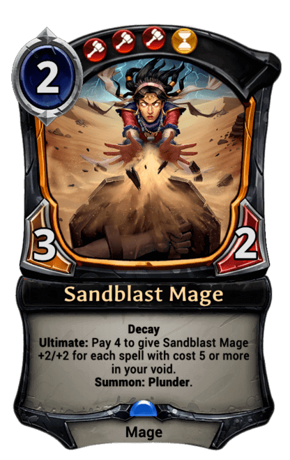 Card image for Sandblast Mage