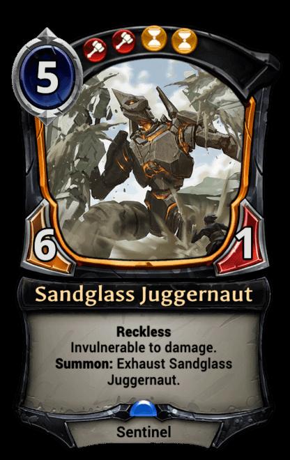 Card image for Sandglass Juggernaut