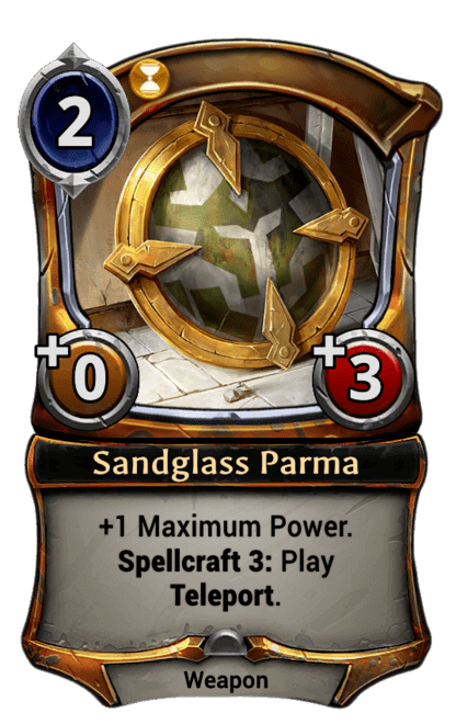 Card image for Sandglass Parma