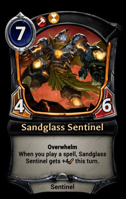 Card image for Sandglass Sentinel