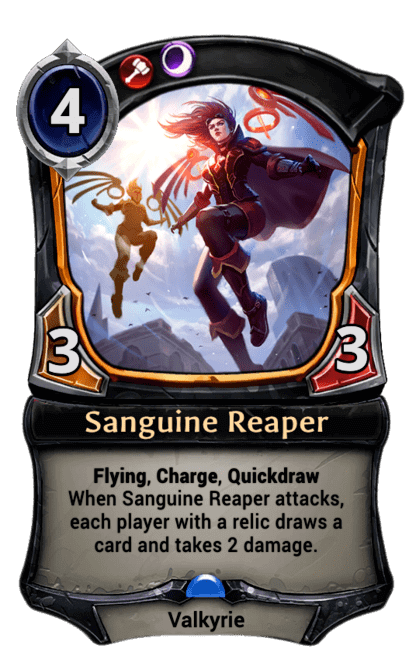 Card image for Sanguine Reaper